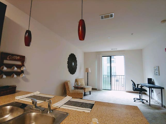 Walkable & Modern Downtown Apartment