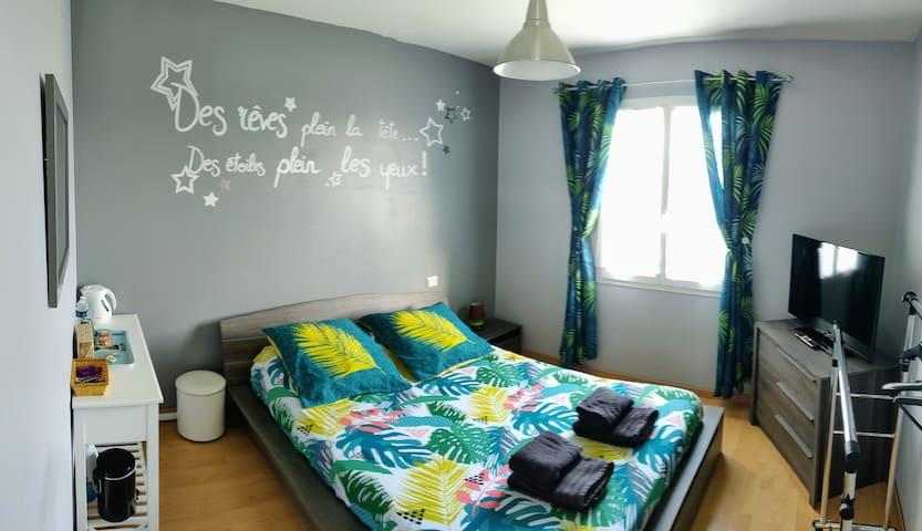 Jolie chambre ☀️accès piscine☀ 10 min d'Angoulême