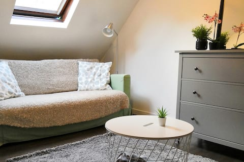 Fontainebleau: Cosy Duplex Flat