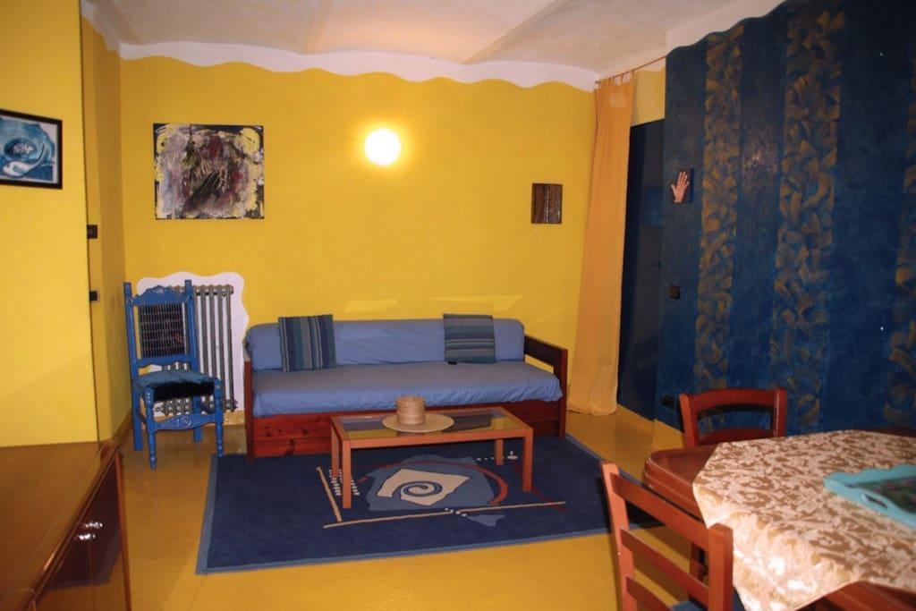 soggiorno  divano letto 2 posti