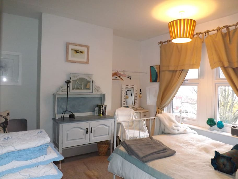Elegant room for single, couple or small family