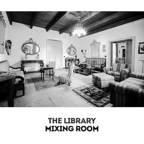 The Library - Historical Mansion - Dipignano - Hus