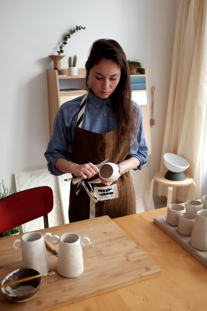 Camille, designer céramiste