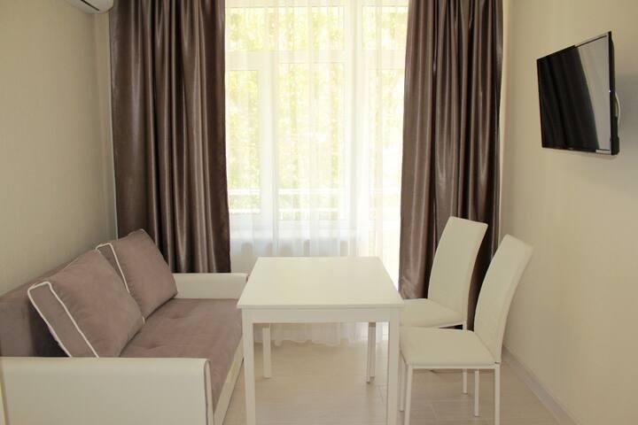 1 комнатная квартира в Гостевом Доме