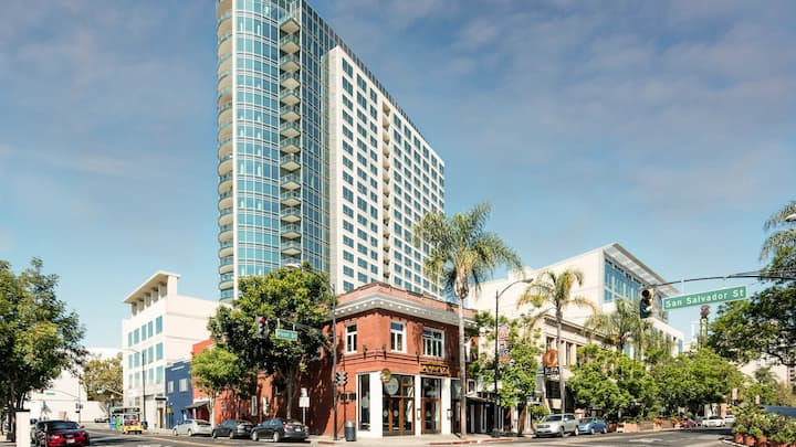 Luxury One Bed Condo in Downtown San Jose