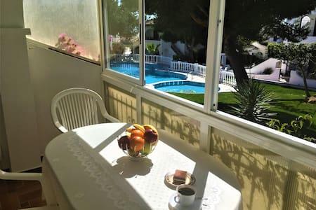 House with pool, playa de la Mata, wi-fi - Torrevieja - Cabane