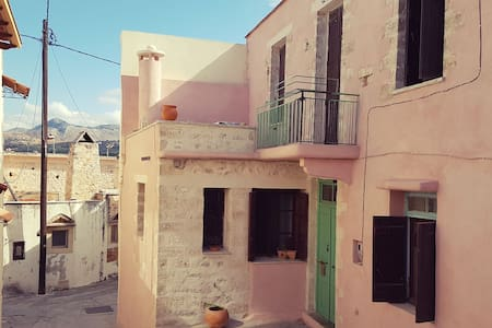 Bohemian Chic House overlooking Rethymno