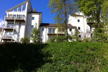 Town centre, spacious river view townhouse