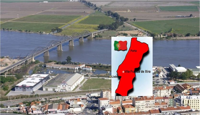 excellent  apartment 15 m away from Lisbon - Vila Franca de Xira - Flat