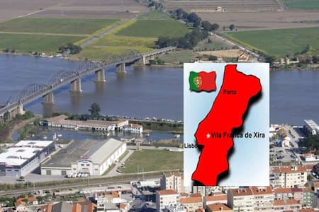 excellent  apartment 15 m away from Lisbon - Vila Franca de Xira - Huoneisto