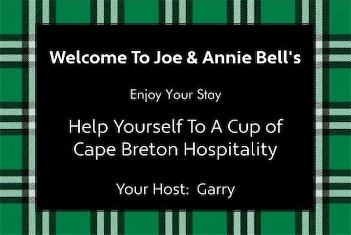Joe & Annie Bell's Airbnb
