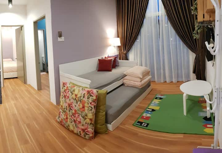 G Residence-2 Bedrooms Apartment@Night Market (2)