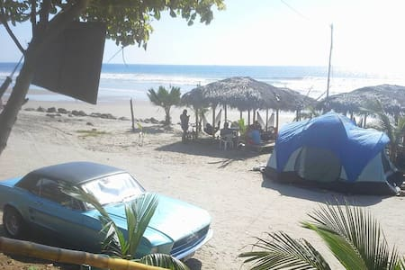 Tent on the Beach of Santa Elena - Simón Bolívar