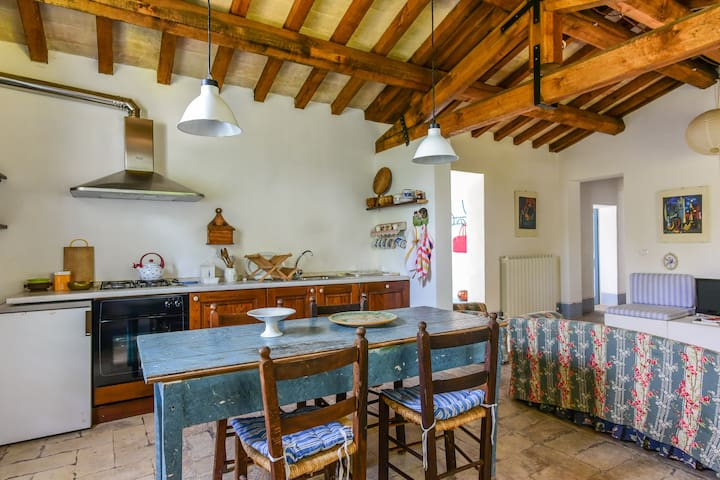 Independent house in the Spoleto countryside - Spoleto - Apartament