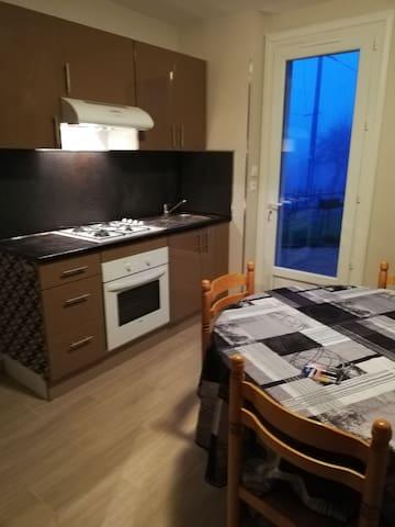 Appartement 3 pièces au calme à la campagne !
