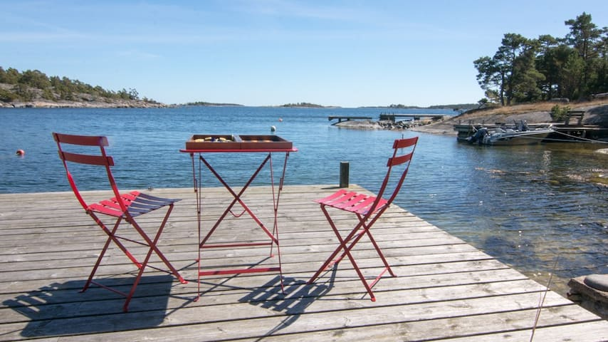 Paradise in archipelagar - Stockholm - Hus