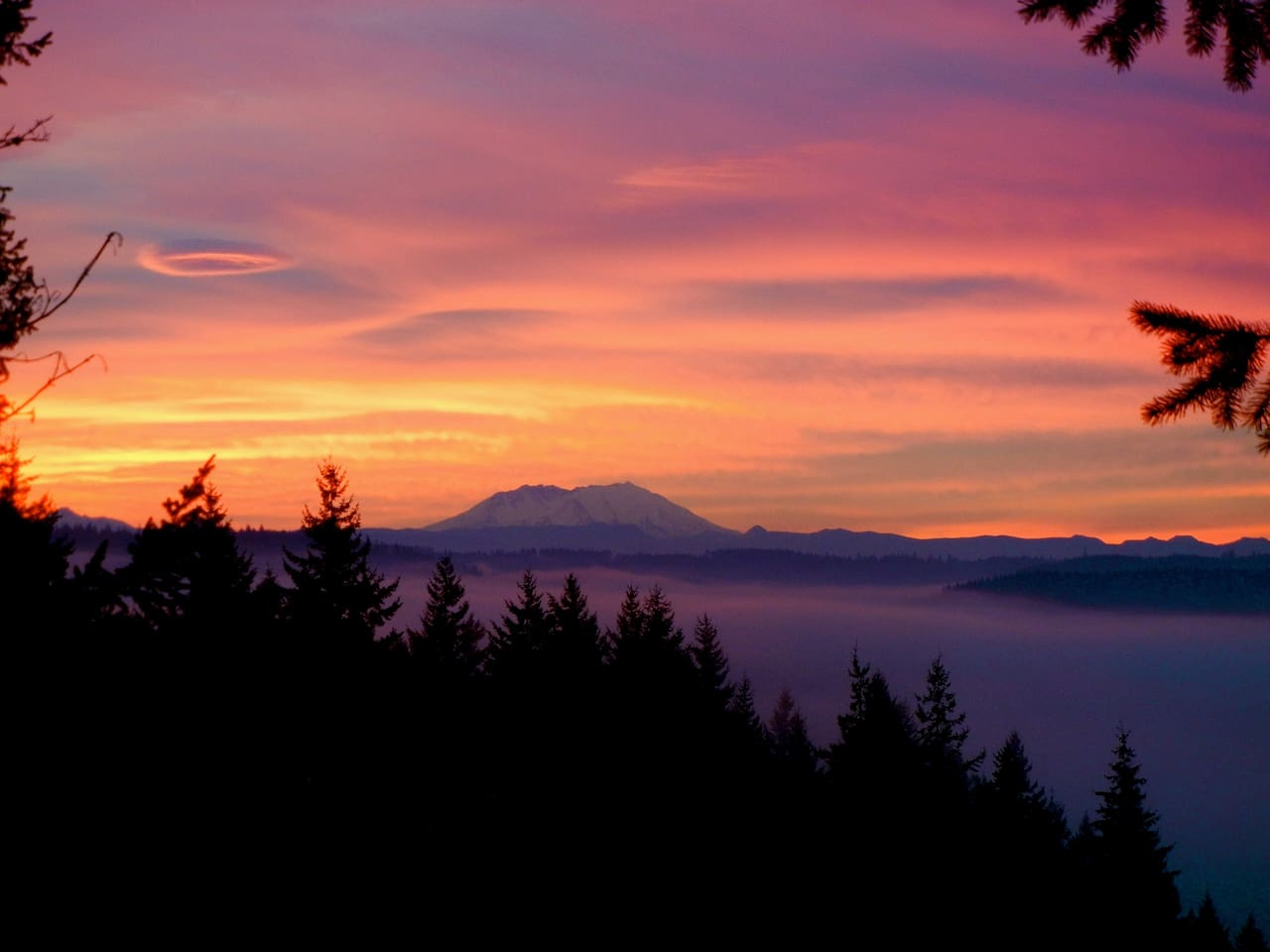 The sunrises