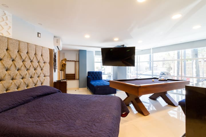 Luxury Flat Private Billiard and A/C La Minerva