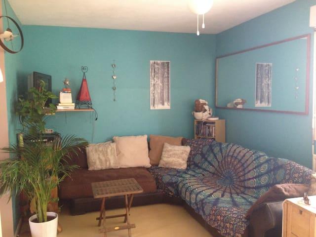 Joli T3 rez-de-jardin 5 min Annecy - Metz-Tessy - Apartamento