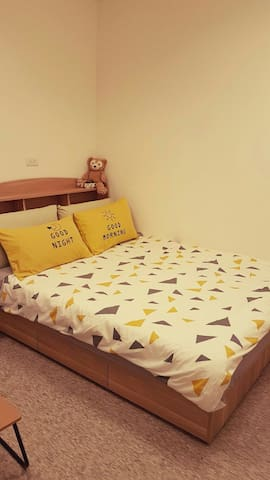 B)全新裝潢近政大動物園考試院New room near Zoo Maokong NCCU 101 - Wenshan District - Leilighet