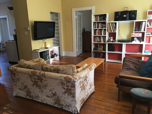 One bedroom in charming 2BR Cambridge apartment