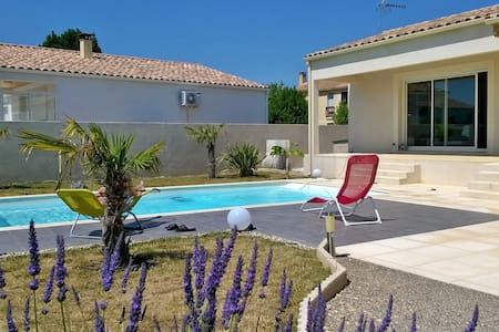 Villa contemporaine avec piscine - Lézignan-Corbières