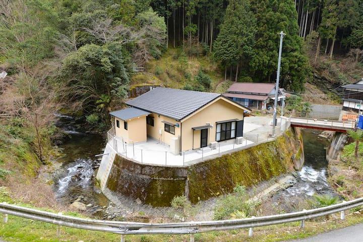 Guesthouse 4km from MT. YOSHINO/River and Mountain - Shimoichi - Casa