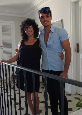 Idalma y Rafael. Somos sus anfitriones