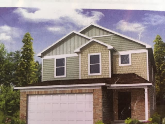 Beautiful brand new home. 25 mins from Uptown - Charlotte - Huis