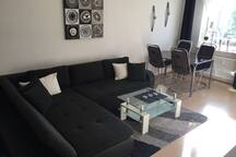 Moderne Wohnung nahe Frankfurt