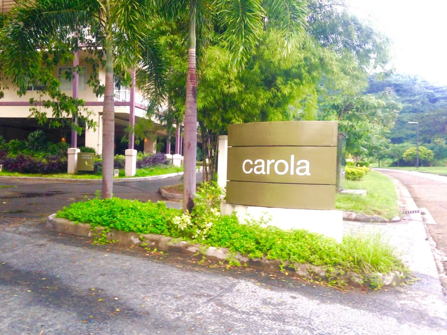 Condo Entrance of Carola B