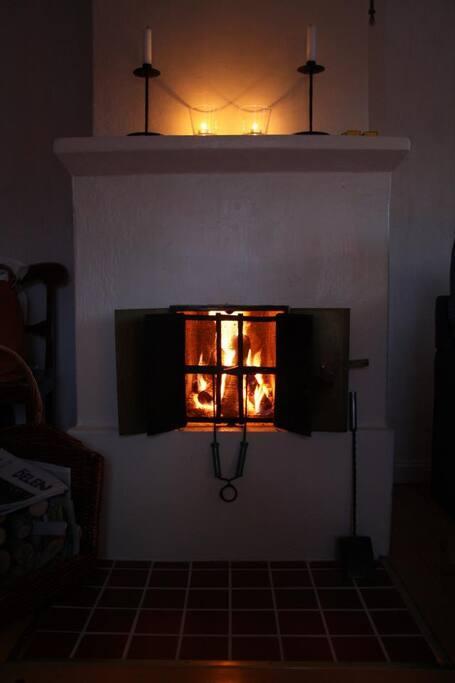 Öppen spis / Fireplace