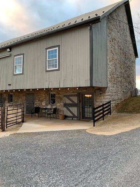 Un Studio Barn Apartment à DuCar Farm