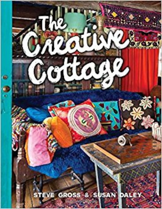 Featured in The Creative Cottage by Steve Gross and Susan Daley.