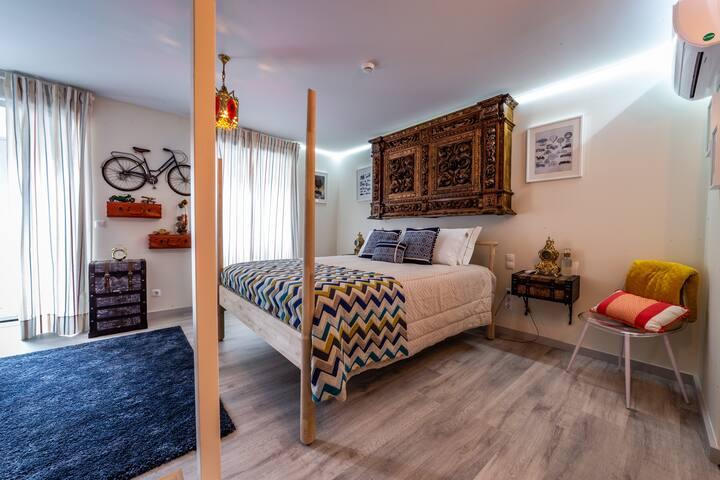 My Bed in Pico - Wanderlust  Room