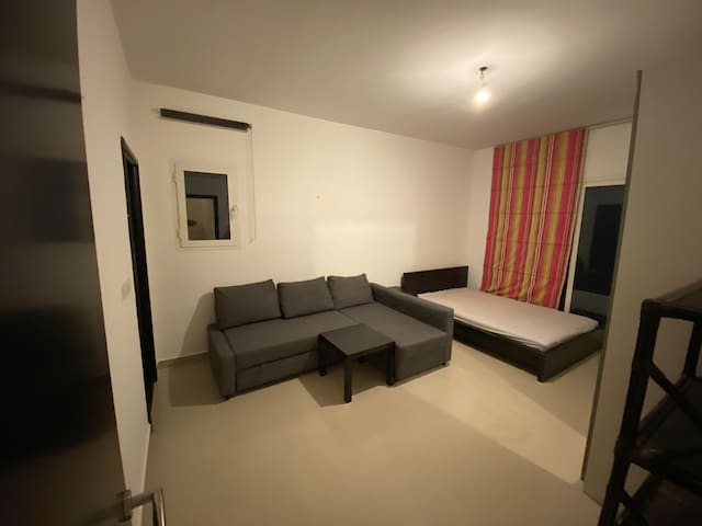 All furnished Master bedroom with balcony