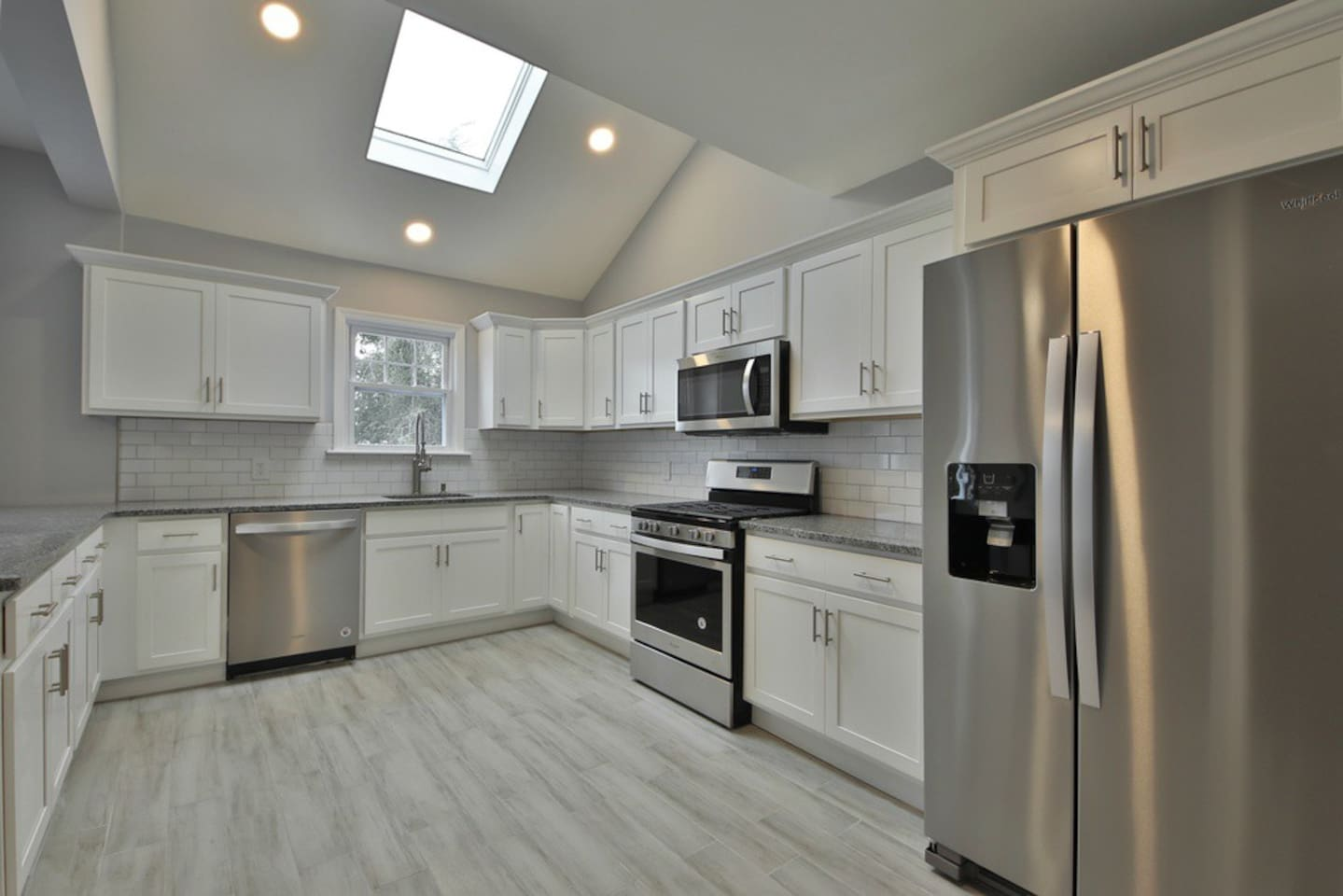 KITCHEN has everything you need ,dishwasher,filtered water fridge ,new appliances, everything is NEW (1/19)