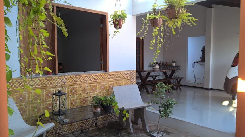 quarto para casal de turistas em ambiente familiar - Parnaíba - Ev