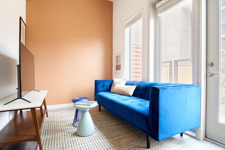 Sonder | Hance Park | Lively Studio + Balcony