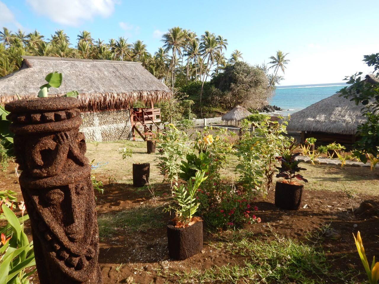 Chez Maureen bungalow view