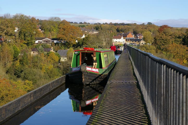 Narrowboat 'Lillian Ginger - Stone