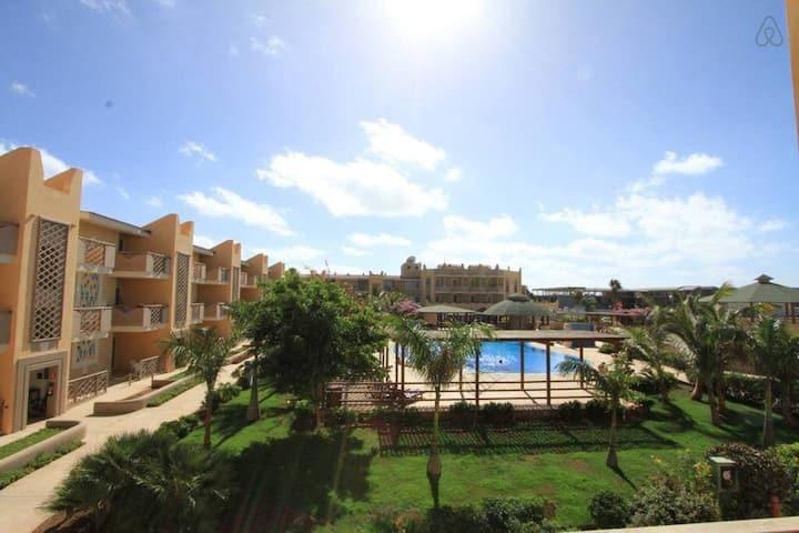 Tropical 2 bed apartment  - Tropical Apartment B 1/2