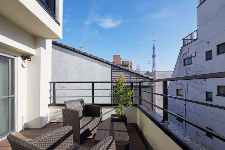 [Y4] OPEN SALE!!! Skytree view/Sensoji 2 mins walk