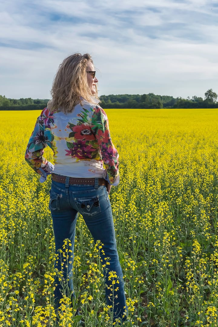 Canola Fields Forever... magical!
