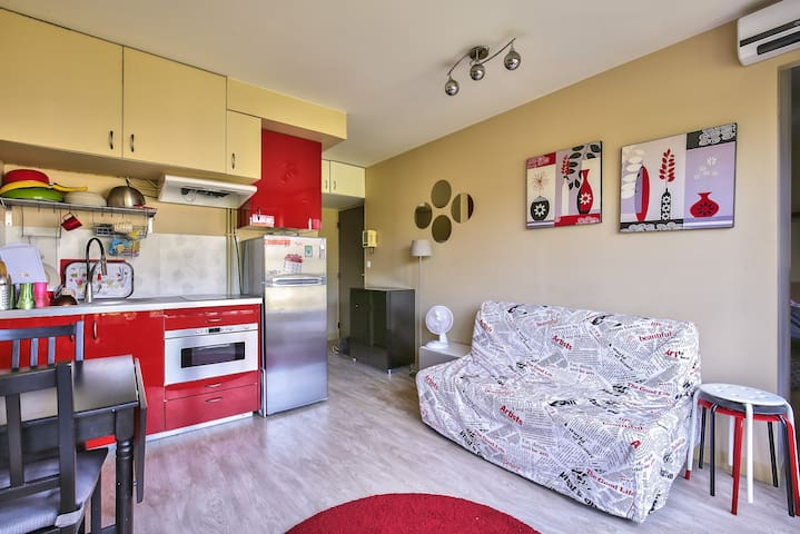 Cosy apartment for up to 4 guests in Charonne