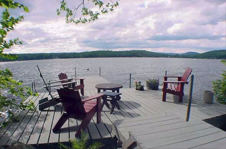 Classic lodge on Long Lake - Harrison - Alojamento na natureza
