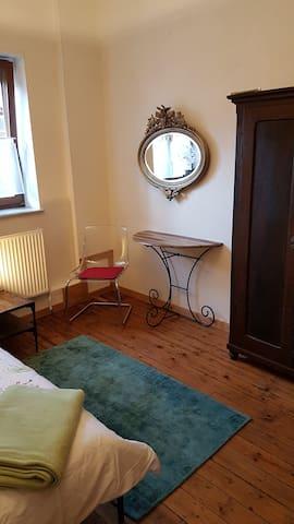 Schlafzimmer 2 OG für eine Person