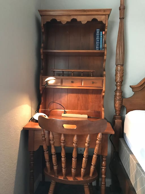 The working place in the guest's room on the 2nd floor
