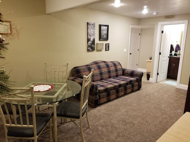 Comfortable Apartment in Beautiful Brick Home