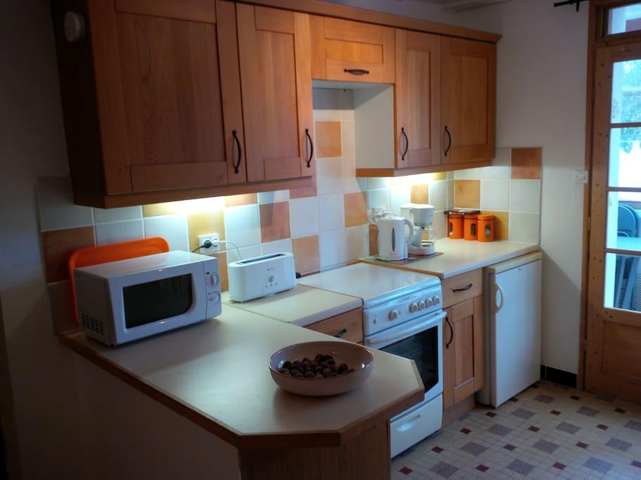 Large kitchen...